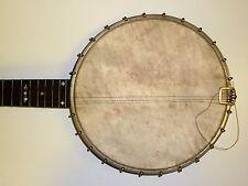 "Antico 5 string Banjo contrassegnata con ""la Dexter BANJO"" J C bertolle Londra"