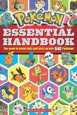 Pokemon: Essential Handbook by Scholastic, Cris Silvestri
