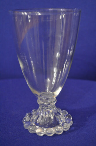 Vintage Boopie Anchor Hocking Glass Cup, Tumbler, Stemware, Heavy Glass, Kitchen