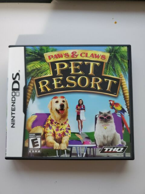 Nintendo DS - Paws & and Claws: Pet Resort - Complete  Very good condition