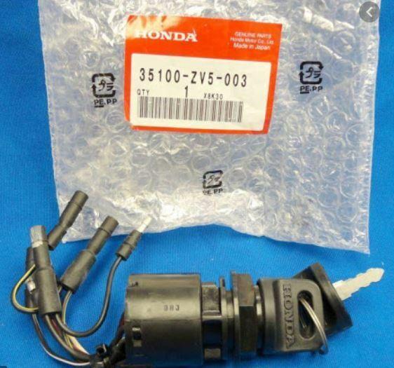 H HILABEE 35100-ZV5-013 Interruptor De Encendido para Caja De Control Exterior Honda