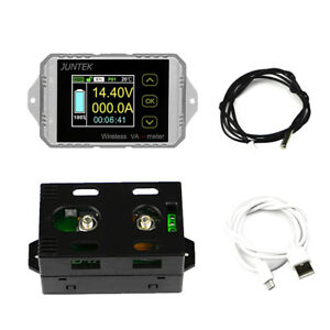 DC-120v-100A-Combo-Meter-Wireless-Voltage-current-KWh-Watt-Meter-Battery-Tester