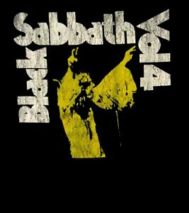 BLACK-SABBATH-cd-cvr-VOL-4-Official-SHIRT-MED-New-volume-4-ozzy-osbourne