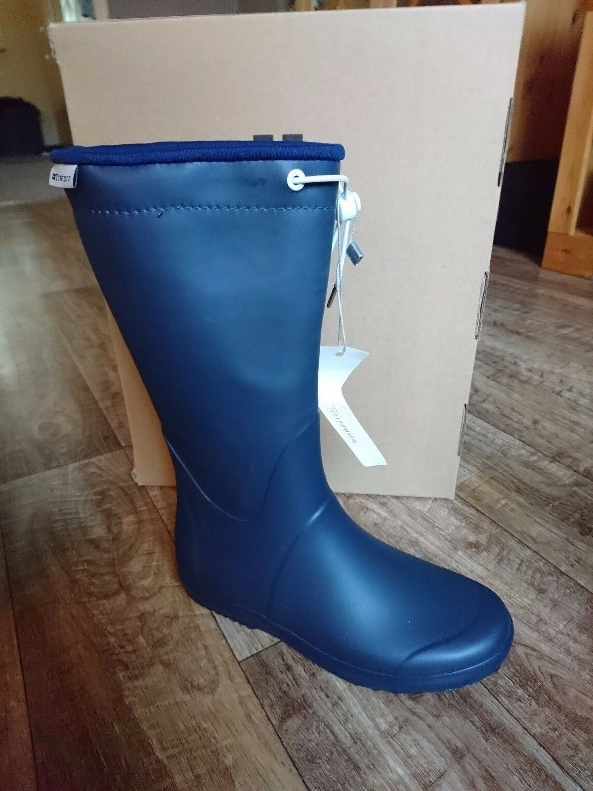 Tretorn Viken W señora botas de goma azul oscuro tamaño 36 nuevo