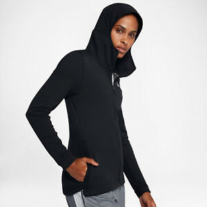 d84c4b096732 Nike Dri-FIT Showtime Women s Basketball Full-Zip Hoodie S M L Black ...