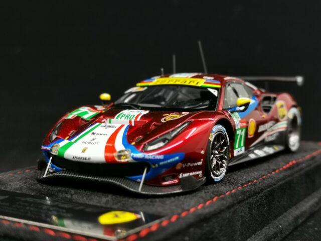 Ferrari 488 Gte 3.9L #54 Lmgte Am Class 24H Le Mans 2017 LOOKSMART 1:43 LSLM069
