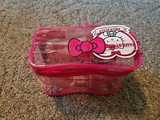 HELLO KITTY 40th Anniversary Carry All Case! Contains 20 Items! NEW! L@@K!