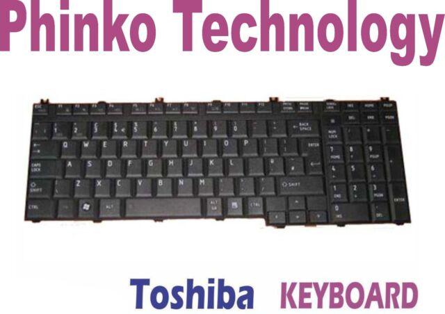 Toshiba Satellite P100 A500 L500 L500D L350 P200 P300 Keyboard