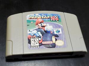 Mario Kart 64 (Nintendo 64, 1996) AUTHENTIC! TESTED! FREE SHIPPING!