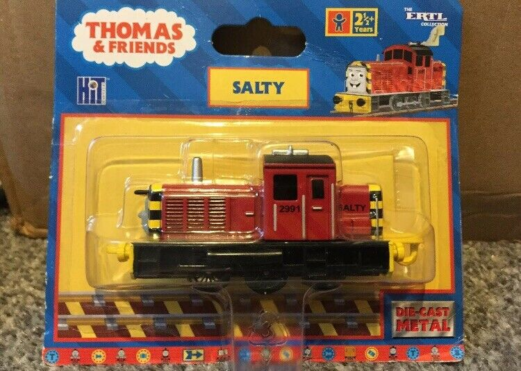 SALTY DIESEL ENGINE ERTL - THOMAS & FRIENDS - BNIB VERY RARE