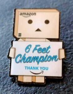 """NEU Amazon SWAG Mitarbeiter Danbo """"6ft. Champion"""" peccy Pin"""
