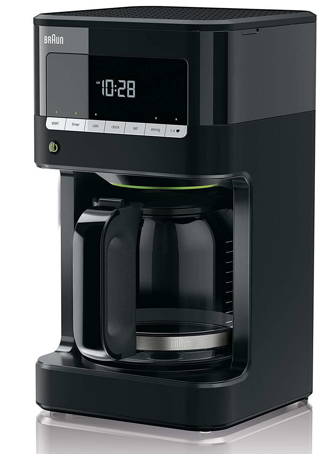 marron 220 Volt PurAroma 7 KF-7020 12-Cups Coffee Maker (NON-USA For Export Only)