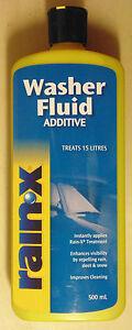 Rain-X-Washer-Fluid-Additive-500mL-for-VW-Skoda-Nissan-Toyota-Subaru-Mitsubishi
