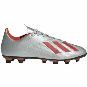 adidas-X-19-4-Flexible-Ground-Boots-Sizes-12-13-Silver-RRP-55-Brand-New-F35379