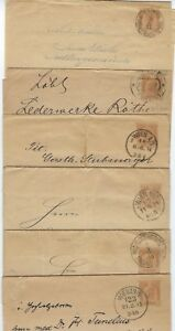 Details about AUSTRIA 1900s COLL OF SIX NEWSPAPER WRAPPERS PRAGUE VIENNA &  TRIESTE NEAT CANCEL