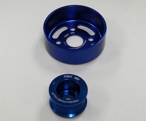 OBX Blue Overdrive Pulley For 2005 2006 2007 2008 Scion tC xB 2.4L