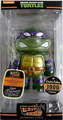 FUNKO HIKARI Teenage Mutant Ninja Turtles Donatello Glitter 3,000 Pieces NIB