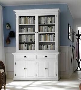 Stockholm White Painted Mahogany Dining Furniture Large Dresser ...