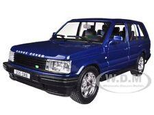 LAND ROVER RANGE ROVER BLUE 1/24 DIECAST CAR MODEL BY BBURAGO 22020