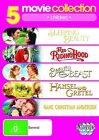 Fairy Tales Collection - Sleeping Beauty / Red Riding Hood / Beauty And The Beast / Hansel And Gretel / Hans Christian Anderson (DVD, 2010, 5-Disc Set)