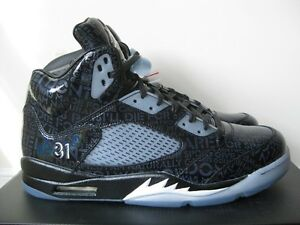 promo code f229e faa3d Image is loading NIKE-AIR-JORDAN-5-DOERNBECHER-RETRO-BLACK-DB5-