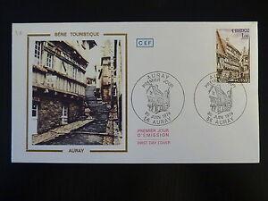 Complexé France Premier Jour Fdc Yvert 2041 Auray 1f Auray 1979
