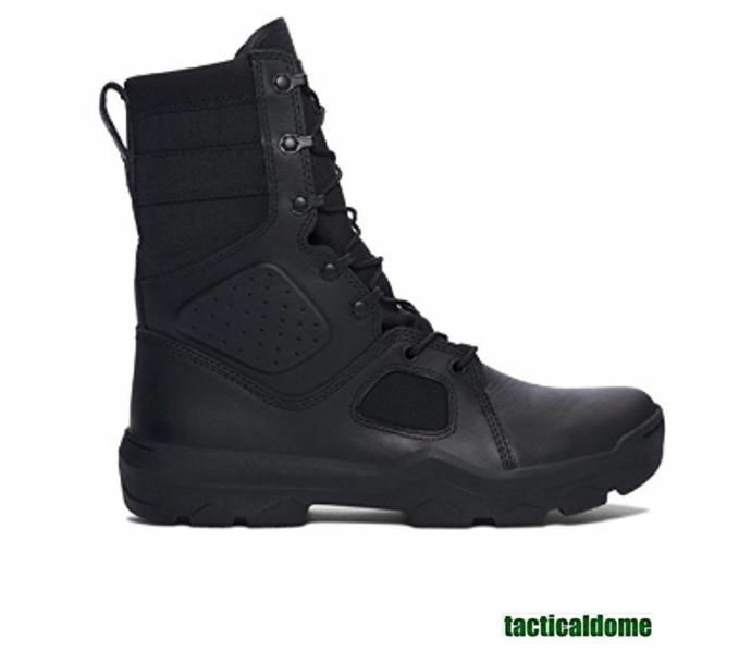Under Armour Men's UA FNP Tactical Heavy Duty Military Style Boots Black