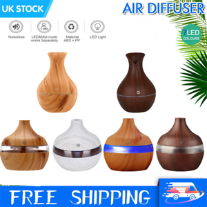 Details about USB Aroma Diffuser Electric Ultrasonic Air Mist Humidifier 7 Colour LED Purifier