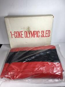 Vintage-Promotional-Coke-Coca-Cola-Inflatable-Sled