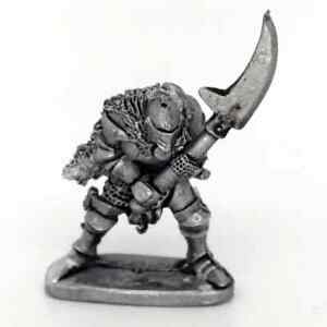 Medieval-Knight-With-Glaive-Warhammer-Fantasy-Armies-28mm-Unpainted-Wargames
