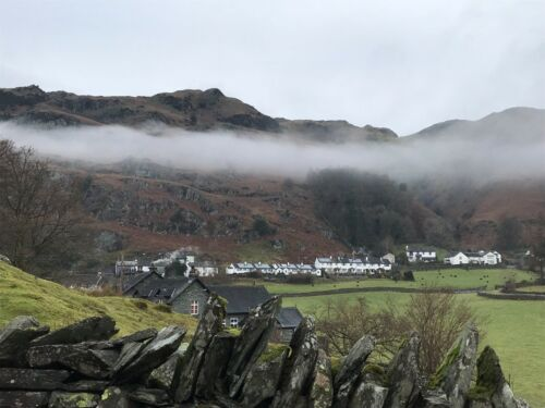 """Lake District/"""" #PeterBrighousePhotography /""""Chapel Stile Langdale Valley Card"""
