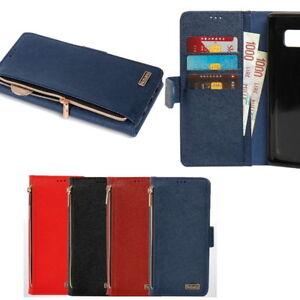 Avio-Zipper-Wallet-Case-for-Samsung-Galaxy-S10-S10-S10e-5G-S9-S9-S8-S7-S7-edge