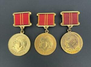 Jubilee Medal In Commemoration of the 100th Anniversary of the Birth of Lenin
