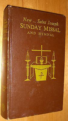 Saint Joseph Sunday Missal Prayerbook & Hymnal 1966
