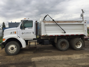 1997 Ford Loisville Tandem Dump truck Low KMs Needs new engine