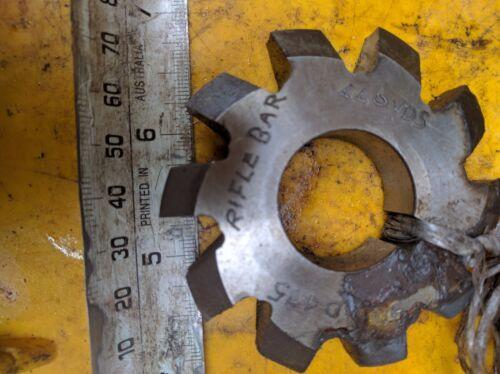 HSS gear Cutter LLOYDS D.475 RIFLE BAR