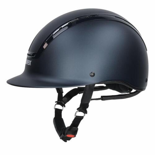 Uvex SUXXEED ACTIVE Riding Helmet Adjustable Hat Kite Mark VG1 Black//Navy XXS-XL