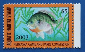 US NEAH07 2003 Nebraska Aquatic Habitat Stamp MNH