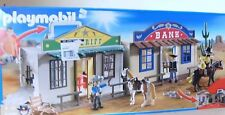 Playmobil Mitnehm-Western-City 4398 Neu & OVP Western Sheriff Office + Bank