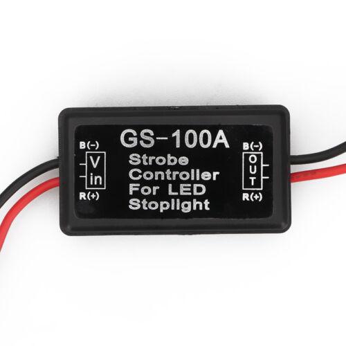 1pc Stop-Alert Brake Flasher Strobe brake lamp or reverse lights Safely Strobes