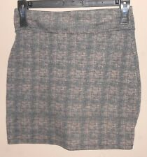 "Women's 'BDG' Size S - Brown Mini Zip-Up Skirt - No Lining - 24""x 15.5"" - E"