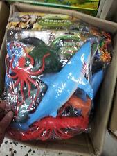 kit gioco animali grandi pesci squalo animal toy  giocattolo plastica mare