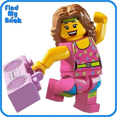 Lego Minifigure 8805 Series 5 Fitness Instructor NEW