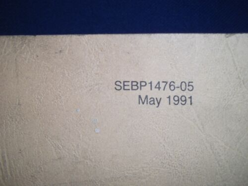 CAT CATERPILLAR 3306B TRUCK ENGINE PARTS BOOK MANUAL S//N 63Z1-22741