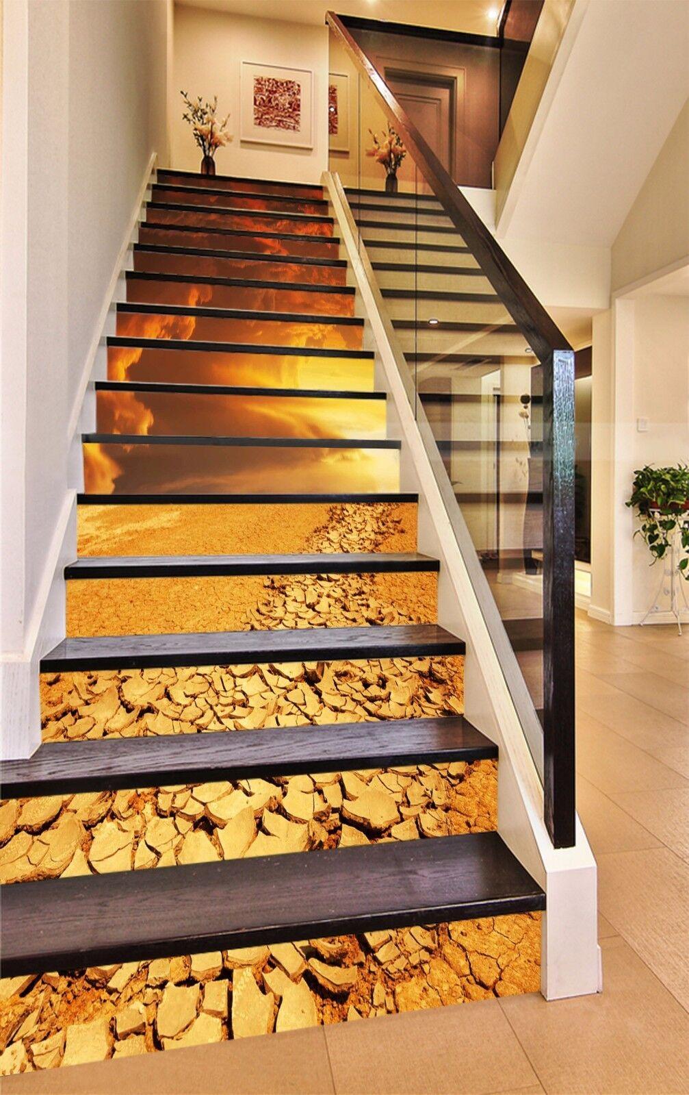3D Sun Soil 559 Stair Risers Decoration Photo Mural Vinyl Decal Wallpaper AU