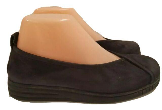 Arche Nitya Black Nubuck Leather