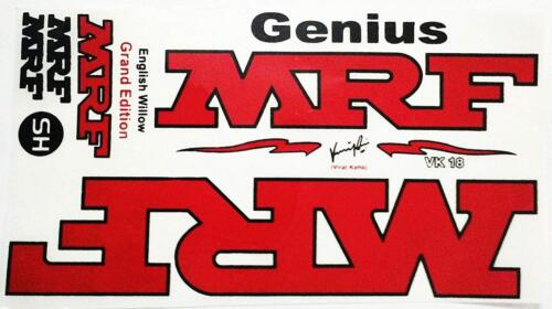 MRF Genius Cricket Bat Sticker Virat Kohli Grand Edition With Fast Delivery SS