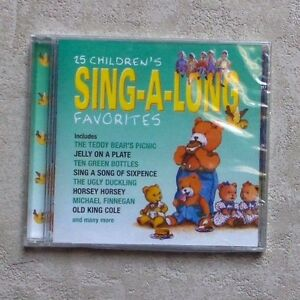 CD-AUDIO-MUSIQUE-25-CHILDREN-039-S-SING-A-LONG-FAVORIT-034-CD-COMPILATION-2001-NEUF