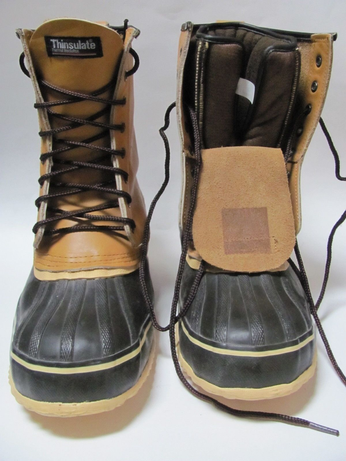 Lehigh Vintage NASI Leather Winter Work Hunting Boots, Insulated Booty  Men's 10
