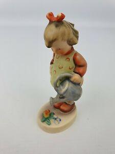 Little-Gardener-Girl-Hummel-Goebel-Number-74-Figurine-TMK-3-Bee-4-5-034